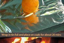 Barbecue/kampvuur