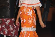 Tenue polynesienne