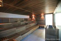 Aquaria - Centro Benessere  / Immagini del Centro Benessere di Terme di Sirmione incentrato sui benefici dell'acqua termale sulfurea salsobromoiodica