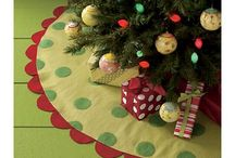 Christmas ~ Tree Skirts / by Sherry Bunch