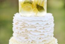 Wedding Cake Toppers // / The prettiest, coolest and most fun ways to top your wedding cake!