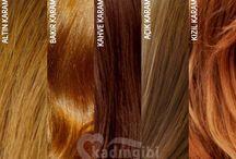 Saç Renkleri