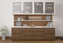 crockery unit design