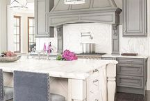 Hearth style cabinetry