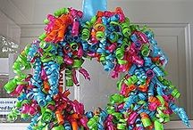 Wreaths  & Swags & Door hangers / by Kim Diseker