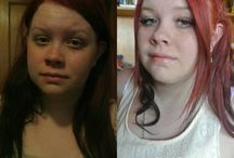 My work / Before and afters of all of my makeup work