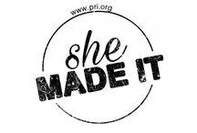 #shemadeit / PRI International web of women owned business