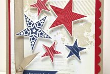 Stars- Stampin' Up! / Projects made with star stamps and punches from Stampin' Up!