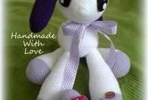 Crochet Toys Handmade With Love / My handmade crochet toys for everyone :-)