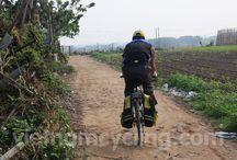 Biking in Hanoi