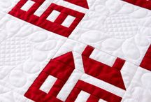 Quilts - Red & White / by Rinnie Hunt Henry