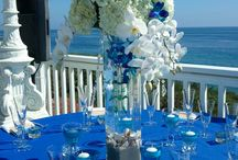 Reception Centerpieces / The look of your tables are paramount. We create eye catching designs.