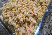 salpicão de macarrão