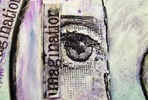 #2 ~MORE ART JOURNAL pages that I love  / More art jouranl pages that I love