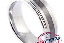 carbon fibre tungsten rings