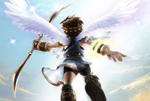 Kid Icarus / We are servants of the goddess of light and YOU. ARE. HISTORY!  / by Jamie Nance