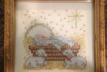 CROSS STITCH CHRISTMAS NATIVITY