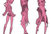 character, anatomy