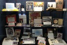 Muntz Library Displays