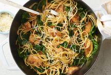 Lemon pepper chicken pasta