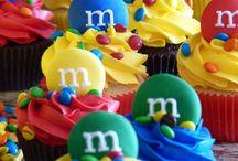 m&m mini cake