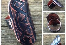 Sibling Rivalry Artisans Rings / We offer the best in handcrafted, custom-made metal or mixed metal jewelry.