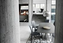 It's grey but it's definitely not boring! / The rough tones of concrete or the elegancy of marble.. The grey tones can be exiting and create a fantastic backdrop for your home décor