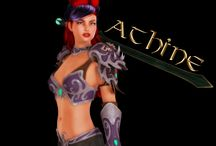 Athine:  The Daughter of Ares / Athine has changed in my renders over the years.  From 2009-2017.  Here are a few examples.
