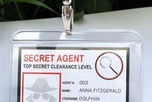 birthday party ~ secret agent