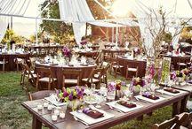 outdoor wedding / by stephanie simpson