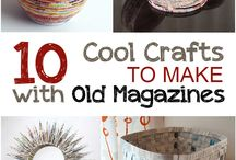 DIY old magazine