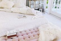 Pink black mirrored bedroom