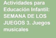 INFANTIL JUEGOS