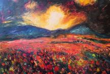 Abstract Landscapes / Beautiful abstract landscapes by original artists.