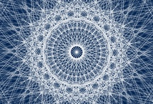 Mandalas, Spirals and Geometry / Mandalas, spirals, geometry, repeating patterns, natural pattern, organic pattern