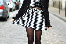 Outfits - Striped Dress