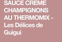 Sauce thermomix