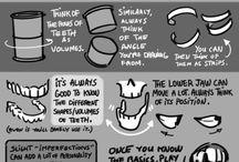 Drawing tips/stuff