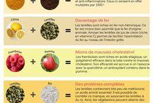 Infographies Santé Véganisme