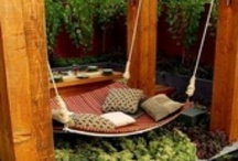 Swinging beds-what a way to sleep!