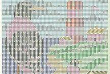 Long stitch patterns