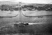 Boğaziçi Köprüsü Yapım Çalışmaları