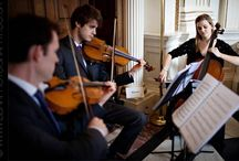 Wedding String Quartet London / We have fine and perfectly elegant string quartets for hire in London that will enhance your wedding day.  Here are some of the beautiful weddings that we've played for.