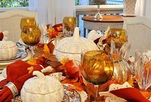 Friends of BNOTP: Fall & Thanksgiving Tablescapes / This board is dedicated to the friends of Between Naps on the Porch who love everything about setting a beautiful table for Fall and/or Thanksgiving. Please pin no more than 2 pics of  each table for us to enjoy! Only family friendly posts about Fall tablescapes and centerpiece ideas please! / by Between Naps On the Porch
