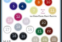 van Gogh FOSSIL Paint Collection / Our beautiful paint palette with empowering names.