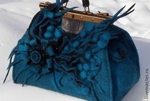 felted bags or purses