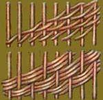 newspaper weavings