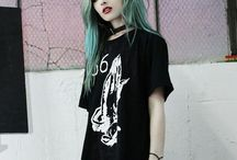 Green hair *-*