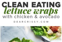 Eating Clean Menu