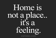 "my ""home"" is you"